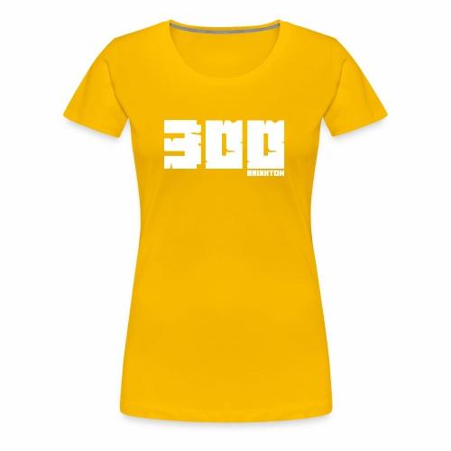BrixxtoN 300 Abo Weiss - Frauen Premium T-Shirt