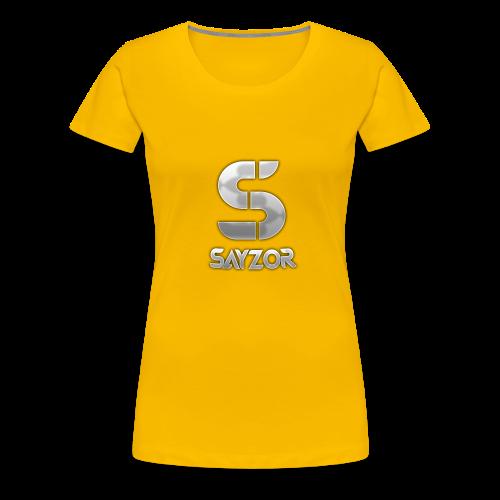 White 2017 Sayzor Merch! - Women's Premium T-Shirt