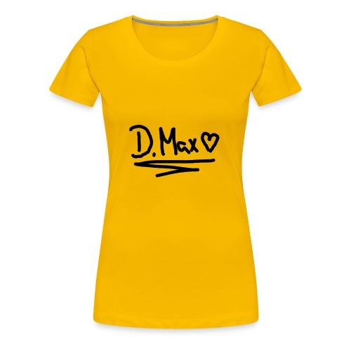 Max Logo. - Frauen Premium T-Shirt