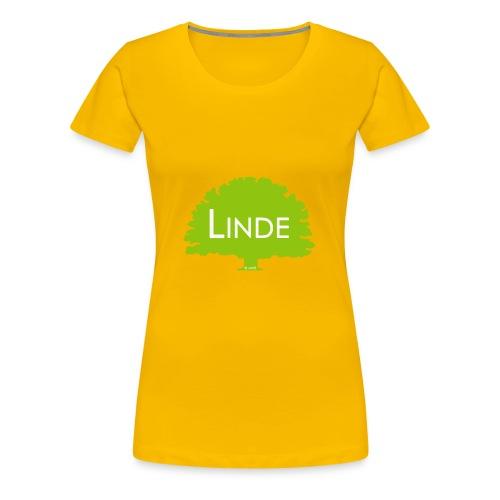Linde gewagt - Frauen Premium T-Shirt