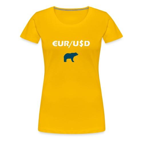 Forex Bear - Frauen Premium T-Shirt