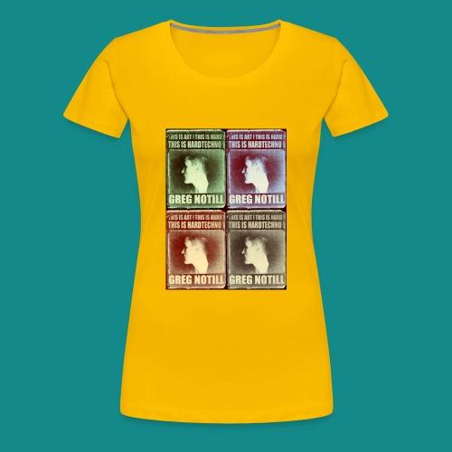 gregteeshirt12 - Women's Premium T-Shirt