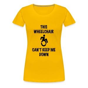 Cantkeepme - Vrouwen Premium T-shirt