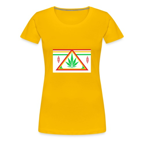 ganja power - T-shirt Premium Femme