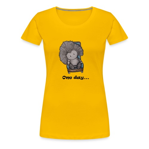 Marcelleke - Le penseur - Frauen Premium T-Shirt