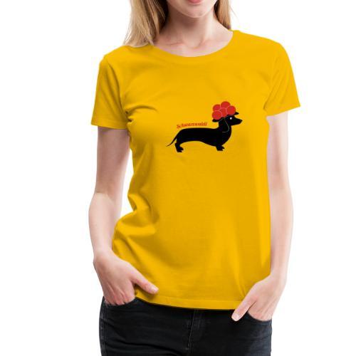 Madame Krax - Schwarzwaldi - Frauen Premium T-Shirt