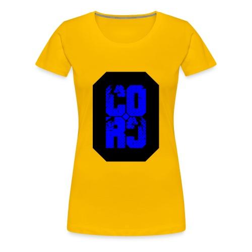 CORC blue - Premium T-skjorte for kvinner
