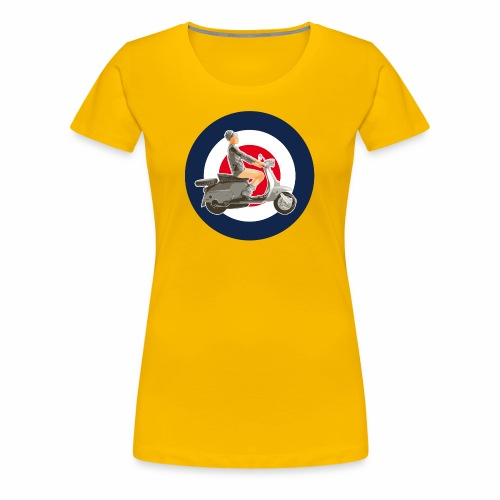 Scooter girl - T-shirt Premium Femme