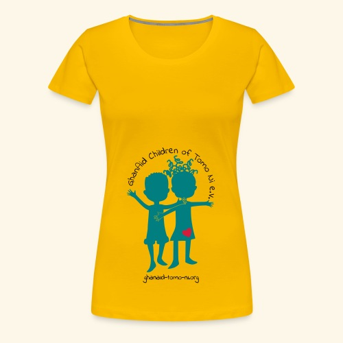 GhanAid Logo - Frauen Premium T-Shirt