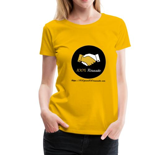 Boutique 100% Réussite - T-shirt Premium Femme