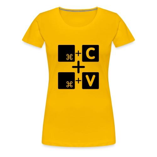 Copy paste Mac Edition - Frauen Premium T-Shirt