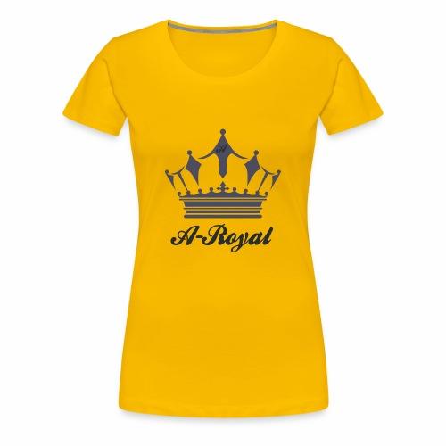 A-Royal - Maglietta Premium da donna