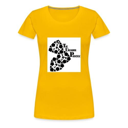 Camiseta Logo Standard The Unknown Paradise - Camiseta premium mujer