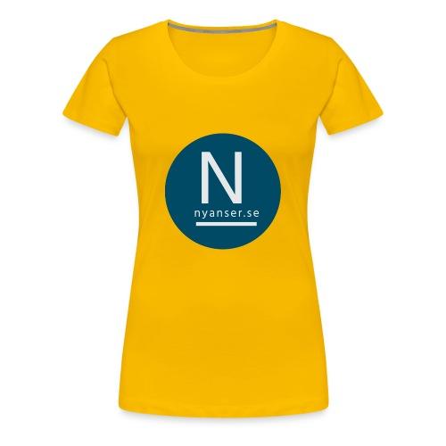 Nyanser.se mugg - Premium-T-shirt dam