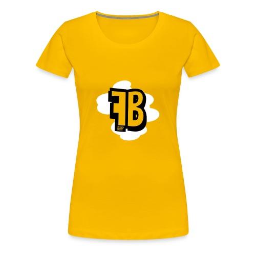 FUZY_BOT MUISMAT VERTICAAL - Vrouwen Premium T-shirt