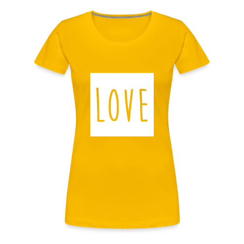 Love Women - Women's Premium T-Shirt