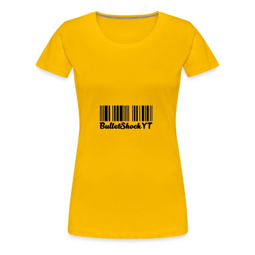 BulletShockYT - Vrouwen Premium T-shirt