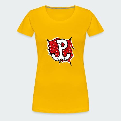 Damska Koszulka Patriotyczna Premium - Koszulka damska Premium
