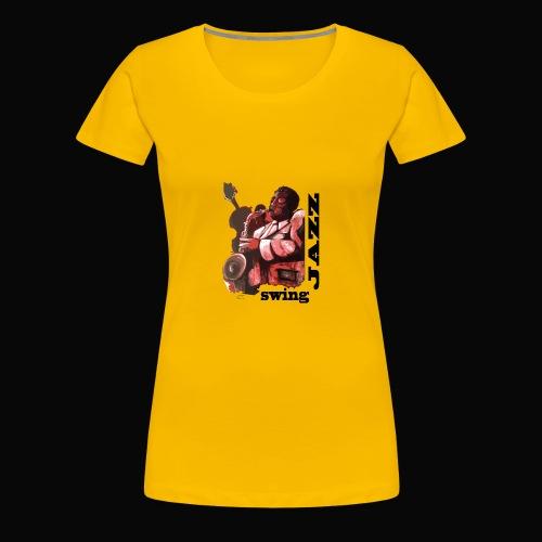 saxofonista1 - Camiseta premium mujer