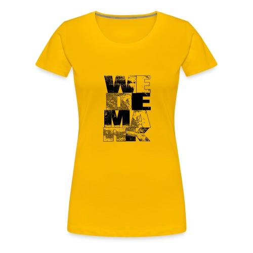 wedemark2 - Frauen Premium T-Shirt