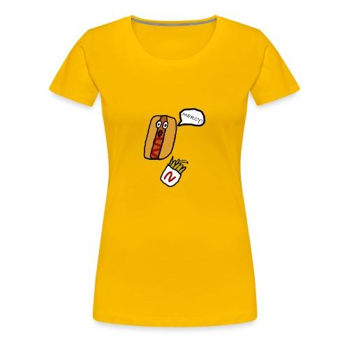 HOTDOG MERCY - Women's Premium T-Shirt