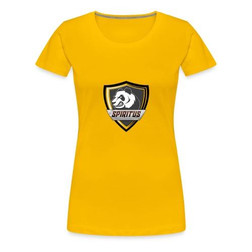 Spiritus Logo - Premium-T-shirt dam