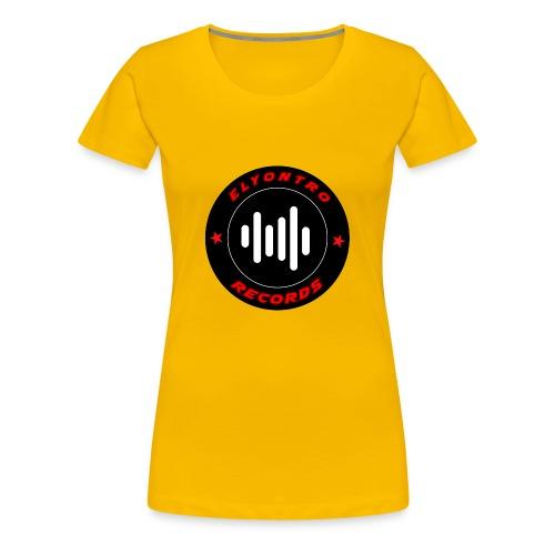 Logo Elyontro records - T-shirt Premium Femme