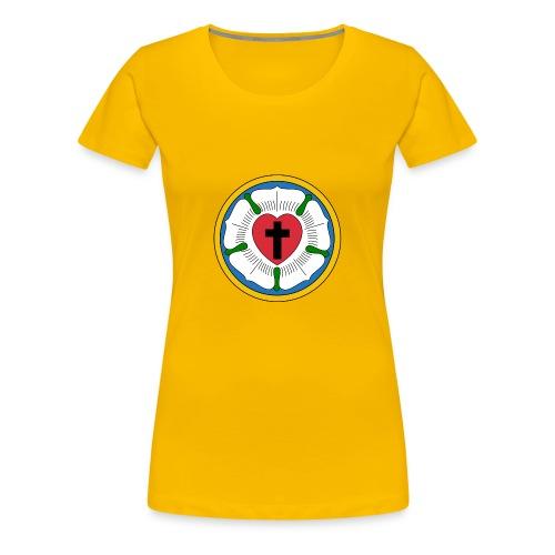 Luther Rose - Women's Premium T-Shirt
