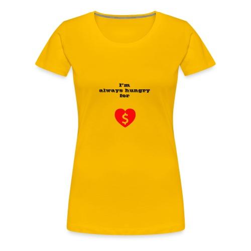 Money or Love - Women's Premium T-Shirt