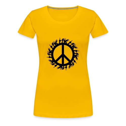 Peace 4 the World - Frauen Premium T-Shirt