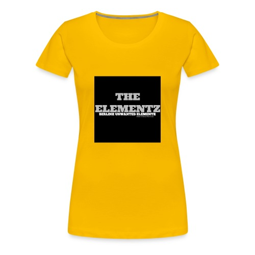 The Elementz merchandise - Frauen Premium T-Shirt