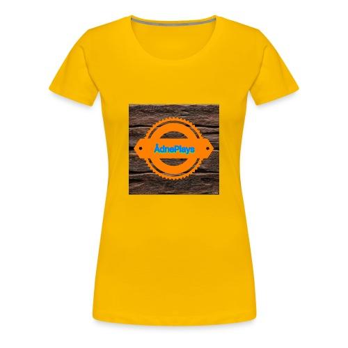 New - Premium T-skjorte for kvinner