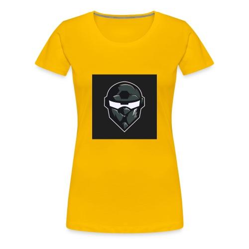 LogoMain2 - Dame premium T-shirt