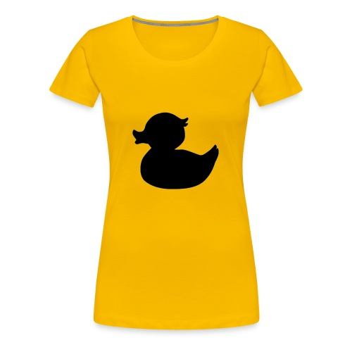 Duck Black - Vrouwen Premium T-shirt