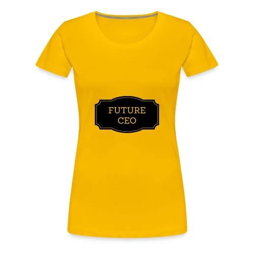 Future CEO - Koszulka damska Premium