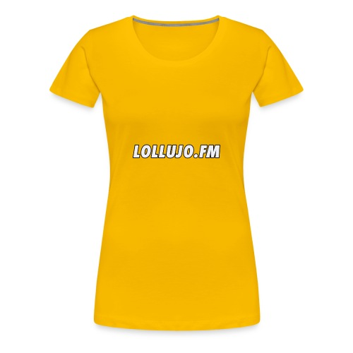 lollujo.fm T-Shirt - Women's Premium T-Shirt