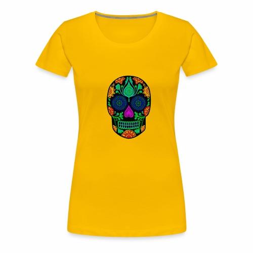 mexican skull - Vrouwen Premium T-shirt