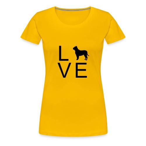 Dog Love 7 - Frauen Premium T-Shirt