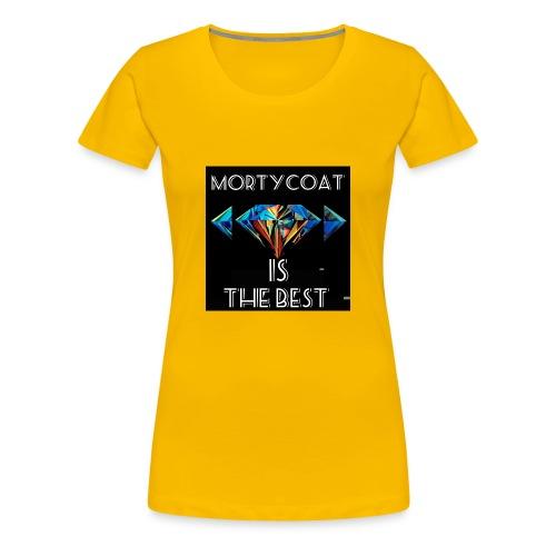 mortycoat diamond design - Women's Premium T-Shirt