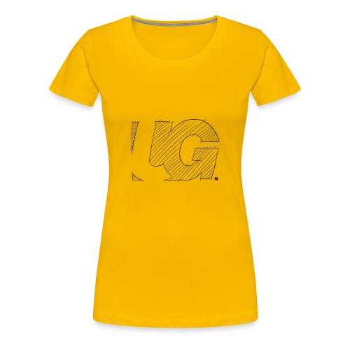 UG Logo sketch - Women's Premium T-Shirt