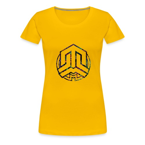 Cookie logo colors - Women's Premium T-Shirt