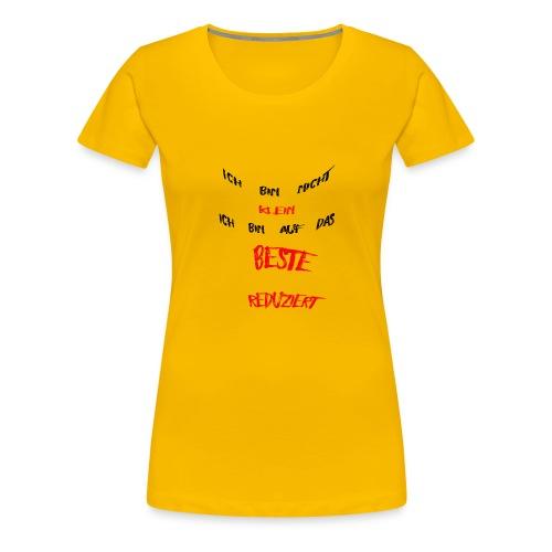 Ich bin nicht klein - Frauen Premium T-Shirt