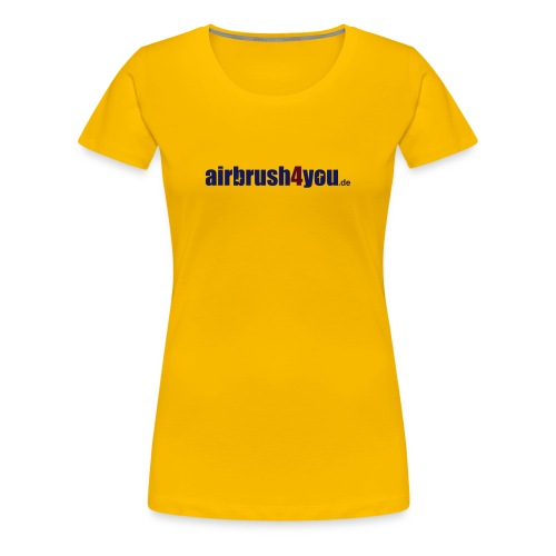 airbrush4you.de - Frauen Premium T-Shirt