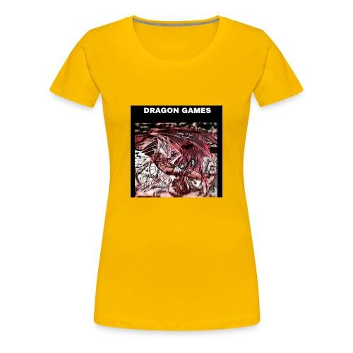 DRAGON GAMES - Maglietta Premium da donna