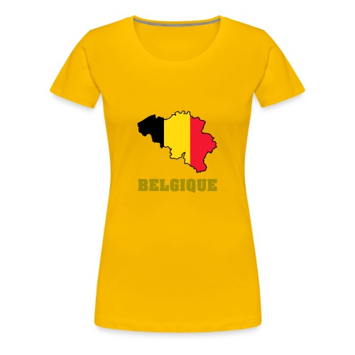 belgique 1 - T-shirt Premium Femme