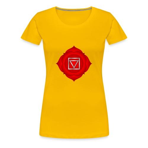 1. Chakra Muladhara - Frauen Premium T-Shirt