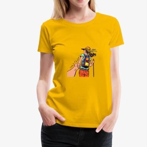 viens je t'emmène ... en rando - T-shirt Premium Femme