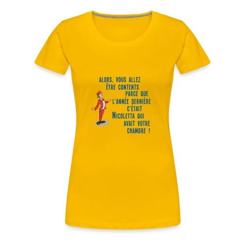 Nicoletta - T-shirt Premium Femme