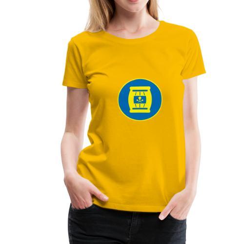 Team Tönnchen Logo ohne Typo in Vicky-Farben - Frauen Premium T-Shirt