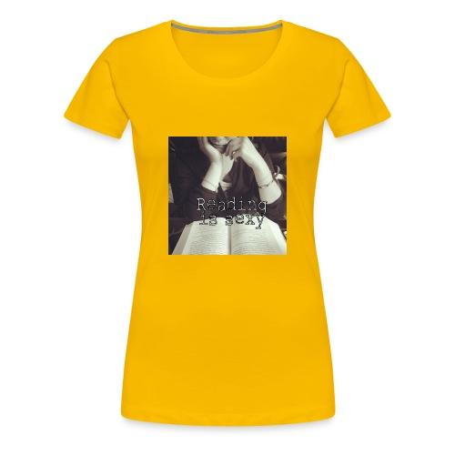 Sudadera Reading is Sexy - Camiseta premium mujer